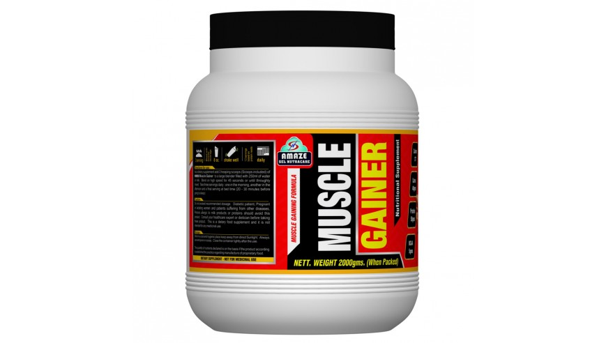 Amaze Muscle Gainer 2kg (35% Discount)