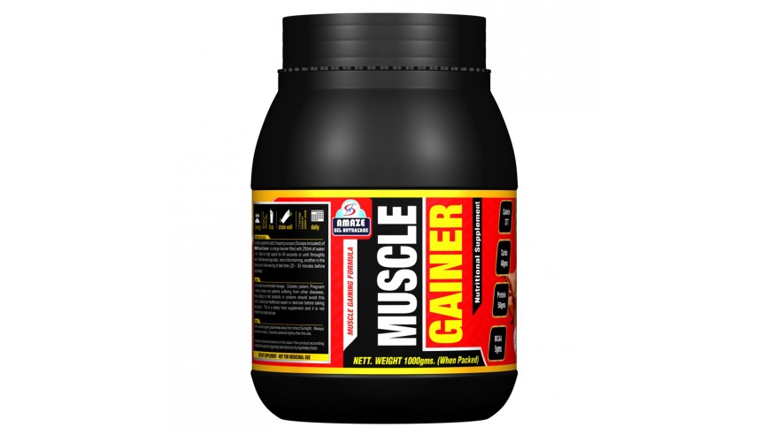 Amaze Muscle Gainer 1kg (35% Discount)