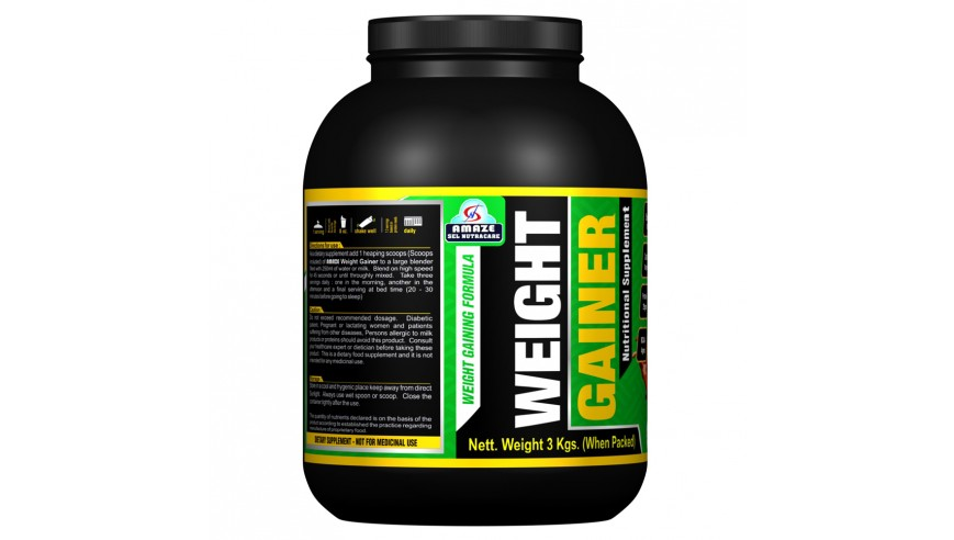 Amaze Weight Gainer 3kg (35% Discount)
