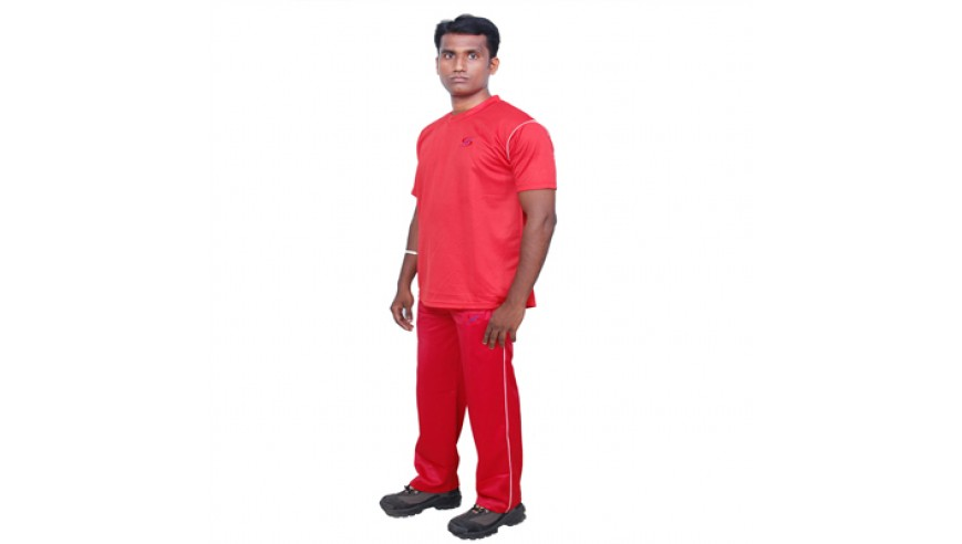 Tracksuit (L) Red – 50% Discount