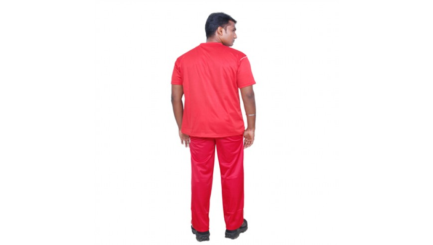 Tracksuit (XL) – Red (50 % Discount)